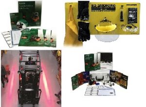 We offer Quality Brands/Products for you training needs. Complete forklift training kits, material handling toola and high quality safety products