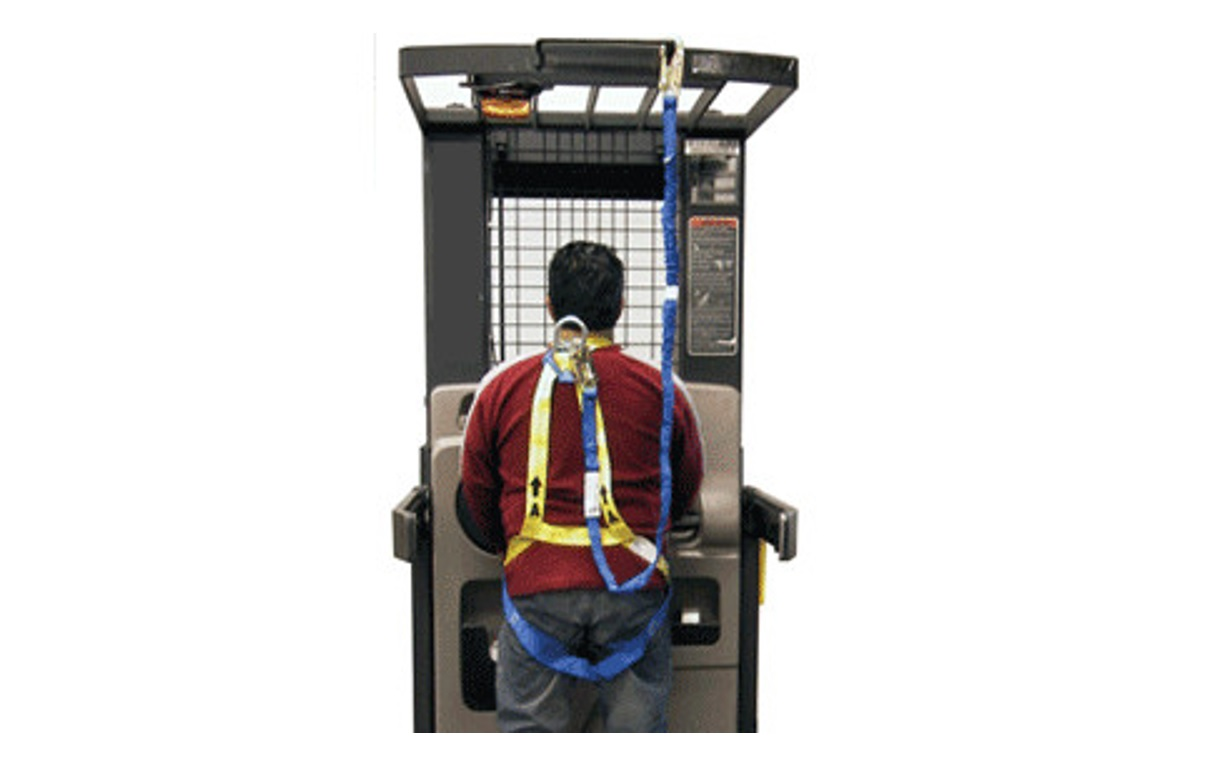 Safety Harness and Lanyard Combo | First Quality Forklift Training