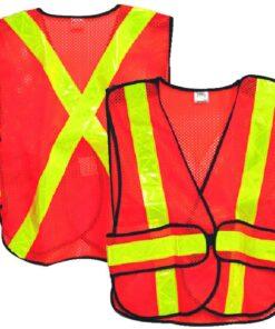 High Visibility Traffic Vest - Reflective Mesh