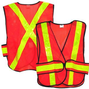 High Visibility Traffic Vest - Reflective Mesh