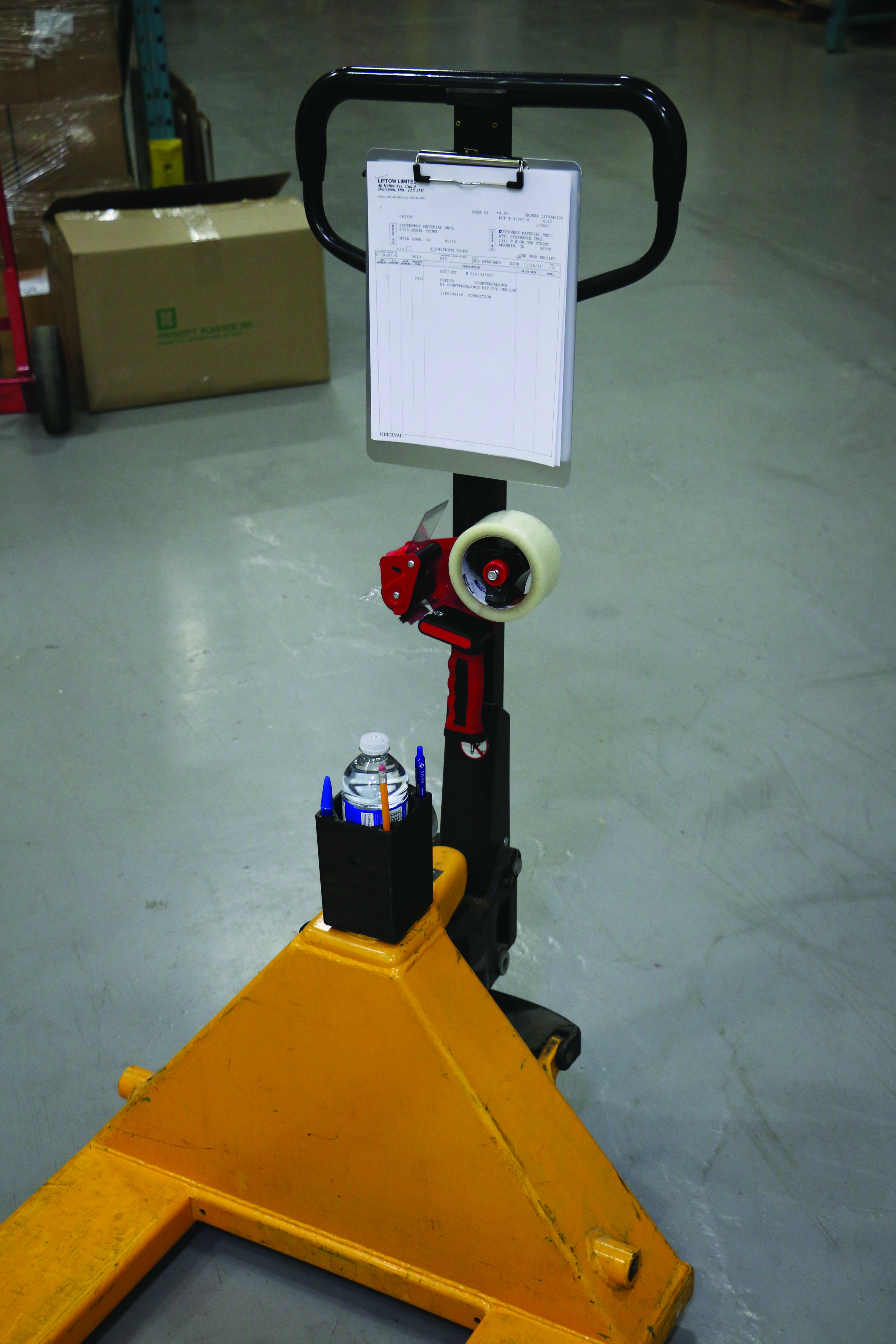 Compartment Of A Fork Lift : Forklift utility box magnetic mount first quality