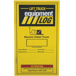 daily check list electric pallet truck