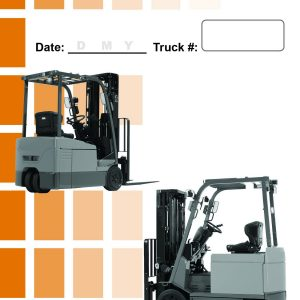 Daily Checklist Caddy-Electric-Counterbalance