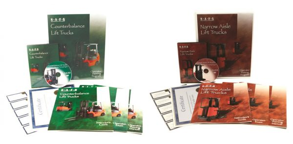Counterbalance & Narrow Aisle Combo DVD Kit