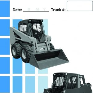 Skid Steer Daily Checklist Caddy