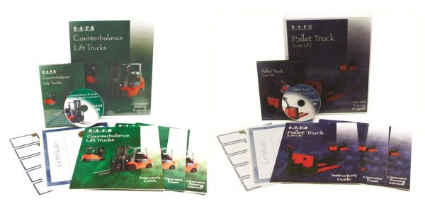 Counterbalance & Pallet Truck Combo DVD Kit