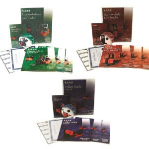 Bilingual Combination Forklift Training Kits