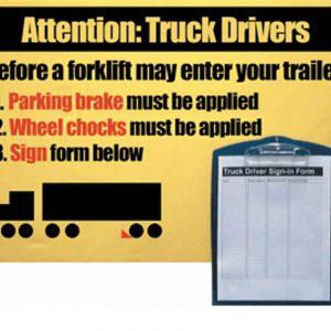 Wheel Chock Safety System