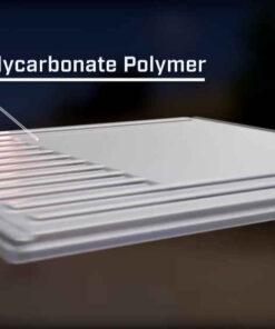 Clear Cap Tough Polycarbonate Polymer