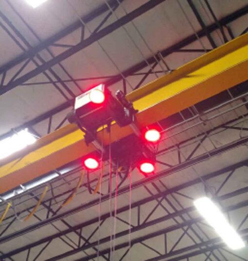 Crane Light Spec Page Image Overhead Mounted on Crane