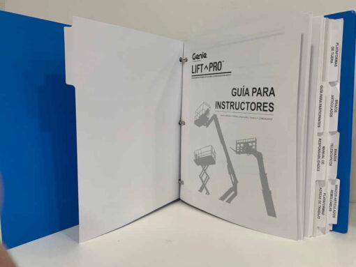 Genie Spanish Scissor Boom Lift MEWP Training Kit