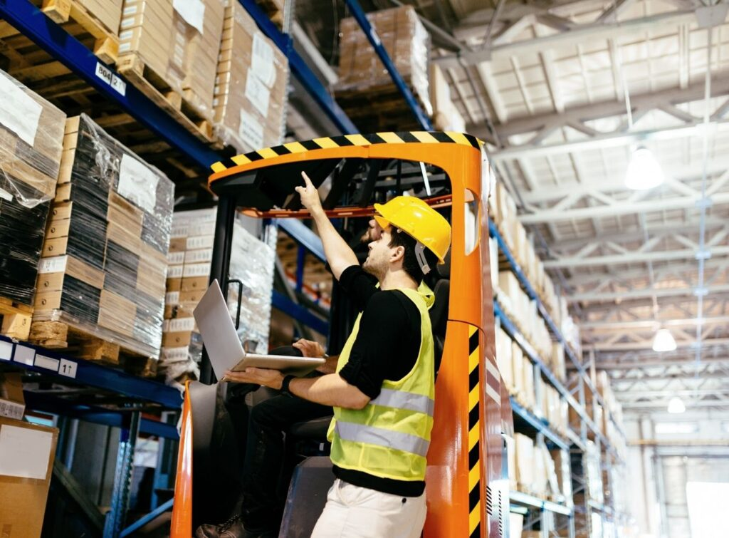How To Feel More Comfortable Driving a Forklift